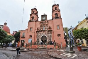 Templo de San Francisco en Guanajuato
