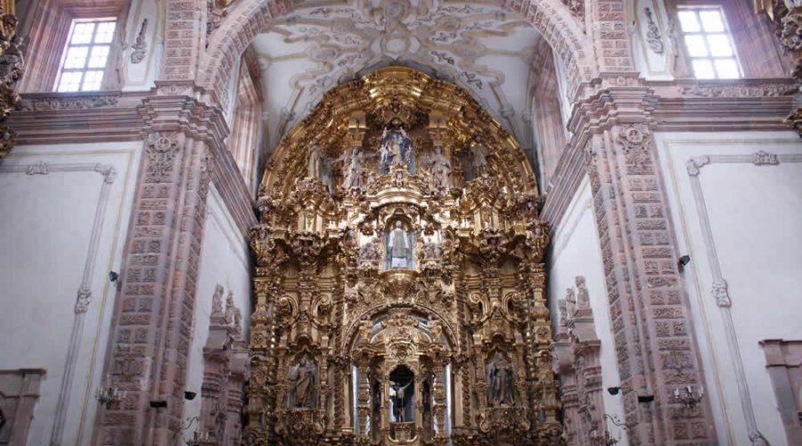 Templo de la Valenciana en Guanajuato