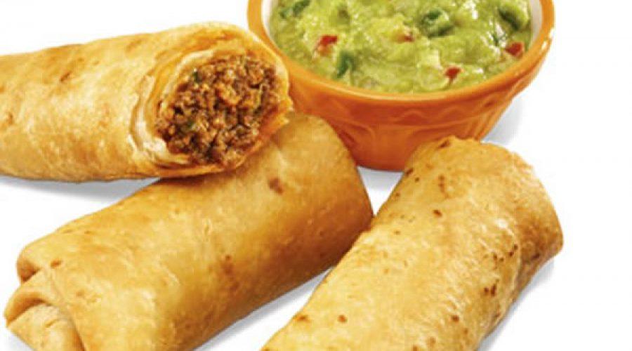 Receta Burritos de Chile Colorado