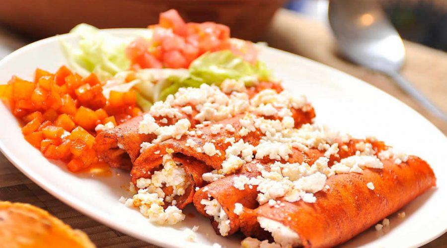 Receta Enchiladas Hidrocálidas