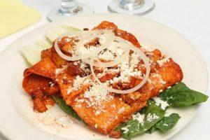 Receta Enchiladas Tamaulipecas
