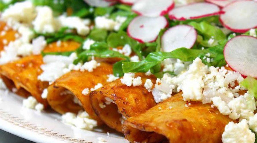 Receta Enchiladas Zacatecanas