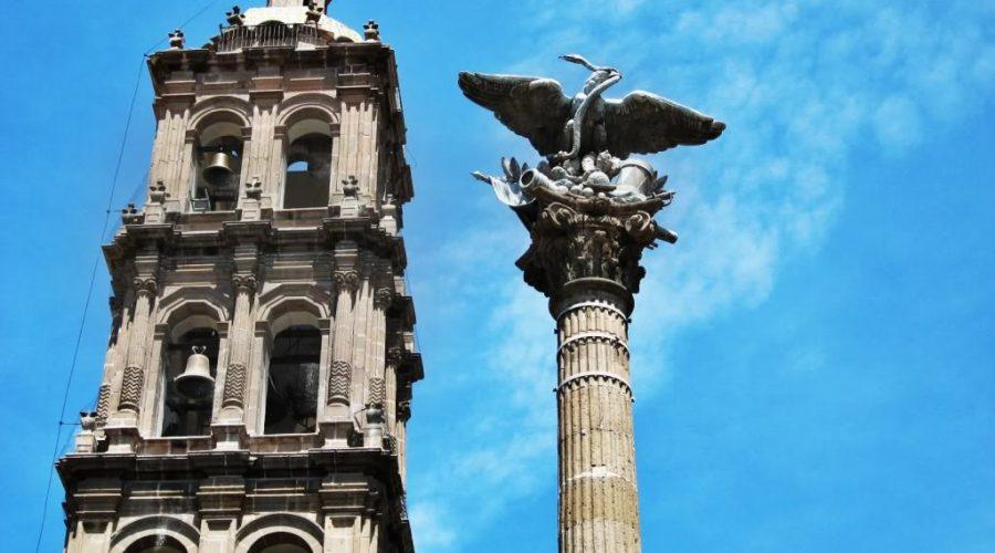 Columna de la Independencia en Celaya, Guanajuato