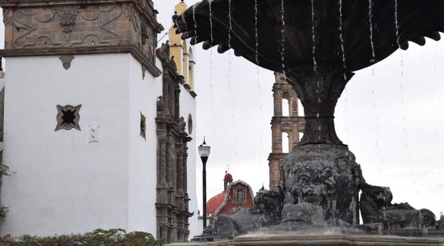 Fuente de los Delfines en Irapuato, Guanajuato