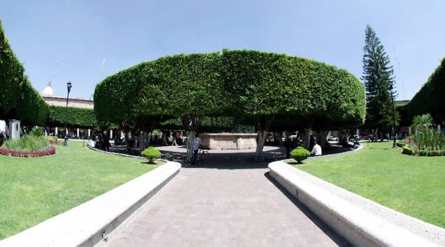 Jardín Principal de Celaya, Guanajuato