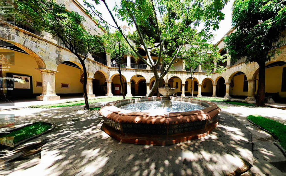 Recorriendo museos y galer as en guadalajara turimexico for El mural guadalajara jalisco