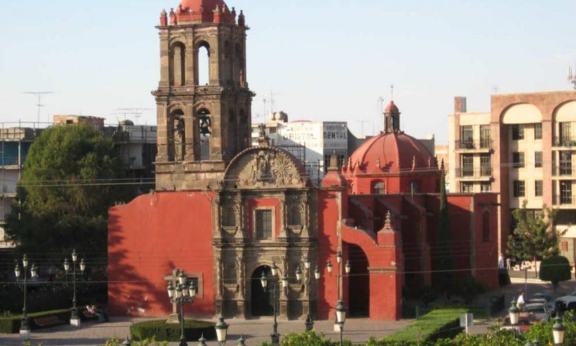 Templo de San Francisco en Irapuato, Guanajuato