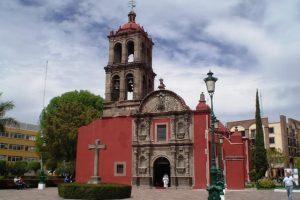 Templo del Hospitalito en Irapuato, Guanajuato