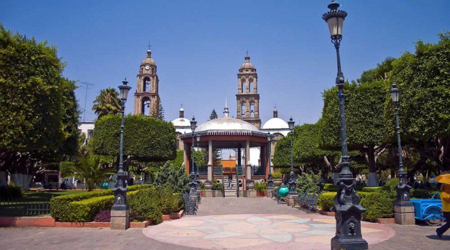 Jardín Hidalgo en Irapuato