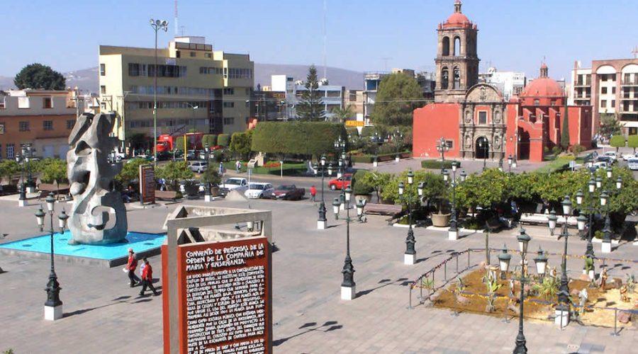 Plaza de los Fundadores en Irapuato