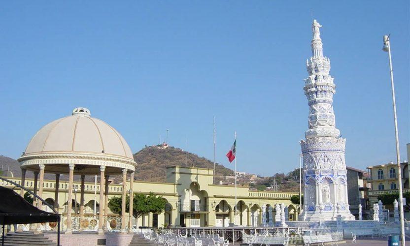 Monumento a Pío IX en Jamay