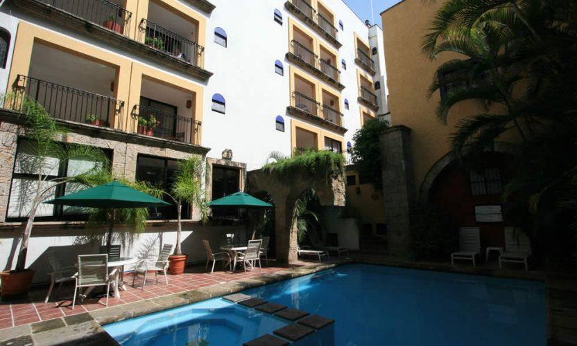 Hotel de Mendoza en Guadalajara