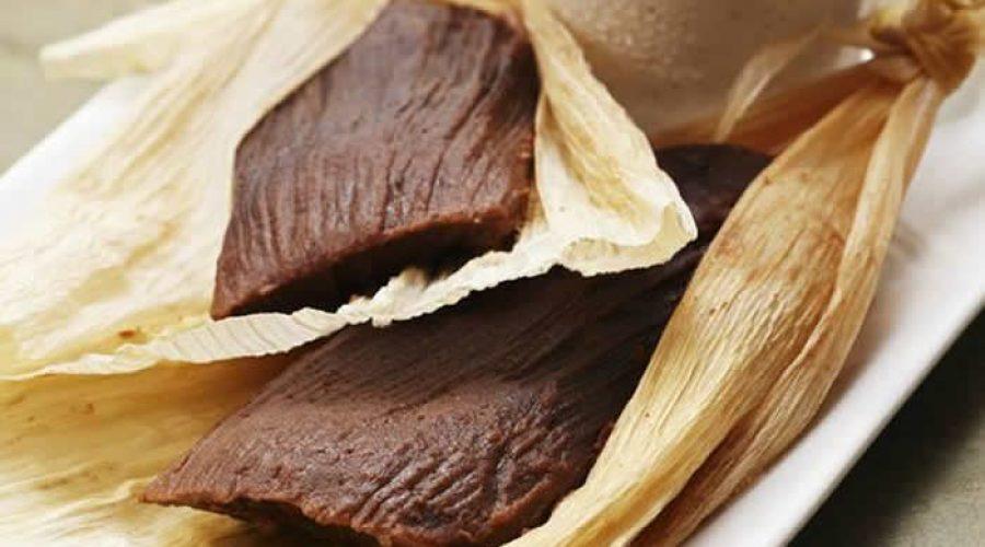 Receta Tamales de Chocolate