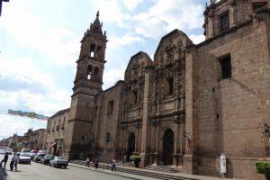 Templo de las Monjas en Morelia