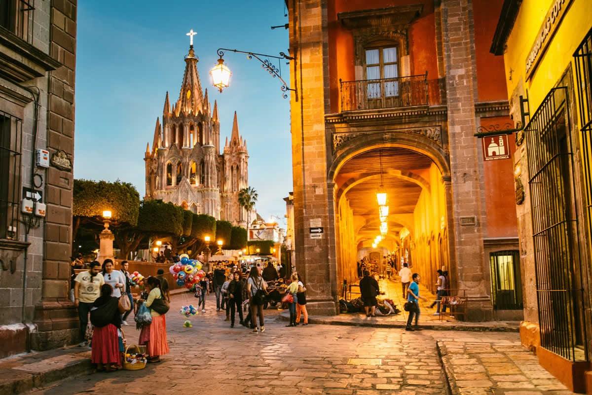 Ciudades Patrimonio en Guanajuato