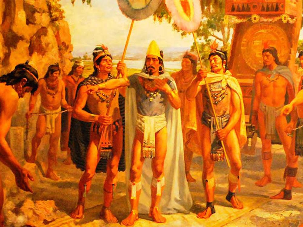 Las Fiestasde Entronización de Moctezuma