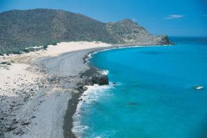 Bahía San Hipólito en Baja California Sur