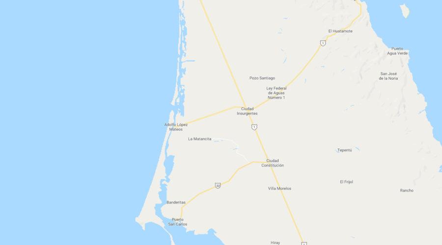 Bahía Las Almejas en Baja California Sur