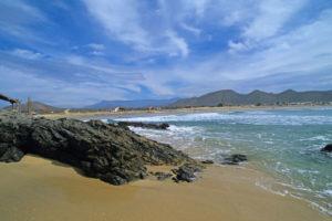 Playa Los Cerritos en Baja California Sur