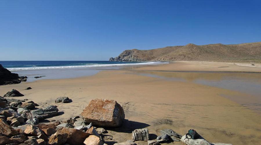 Playa San Pedrito en Baja California