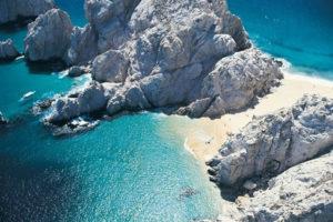 Playa del Amor en Baja California Sur