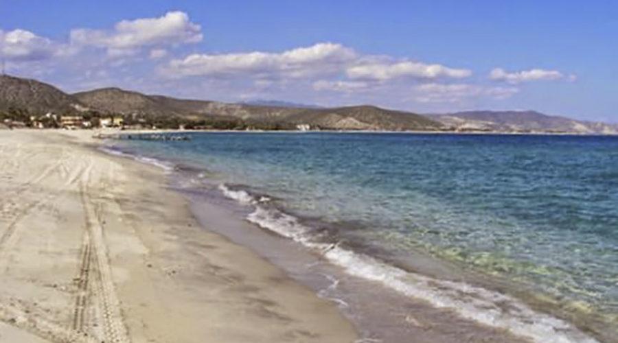 Bahía Las Palmas en Baja California Sur