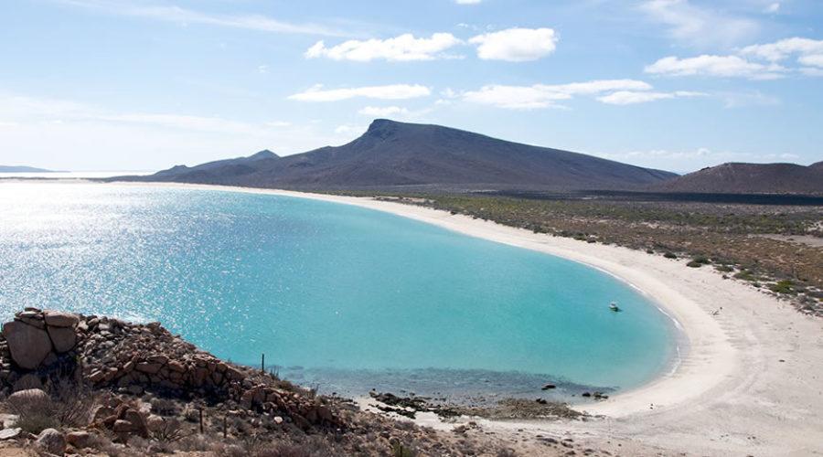 Bahía de los Muertos en Baja California Sur