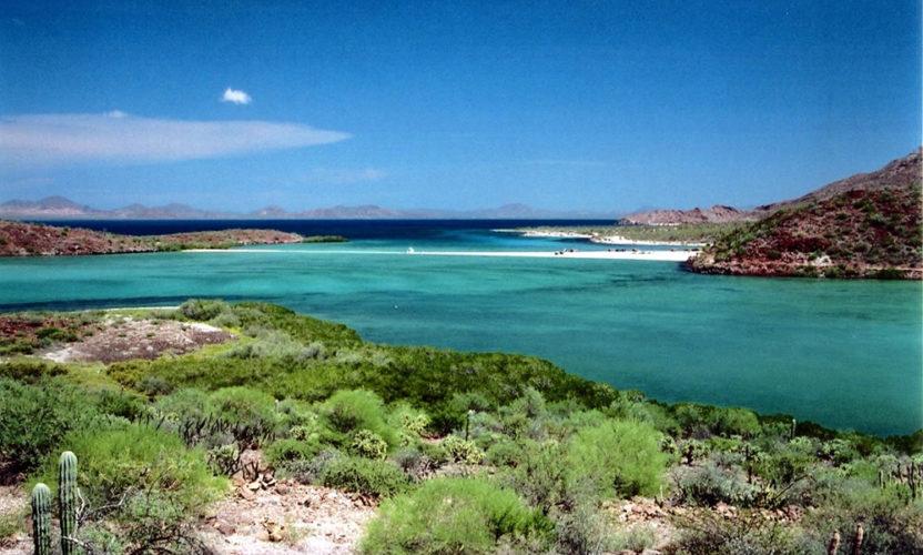 Bahía Concepción en Baja California Sur