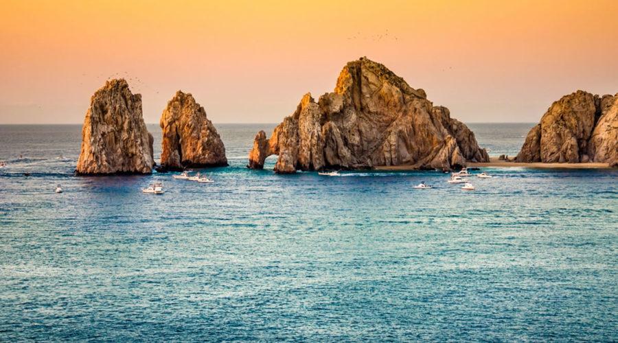 Caleta San Lucas en Baja California Sur