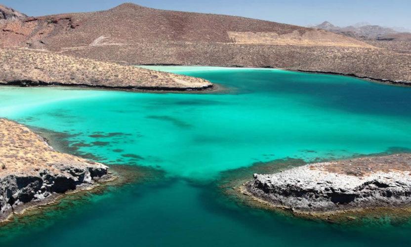 Isla Espíritu Santo en Baja California Sur
