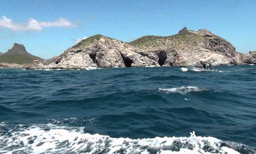 Isla San Pedro Nolasco en Sonora