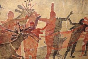 Pinturas Rupestres de las Cuevas Pintadas de la Sierra de la Giganta