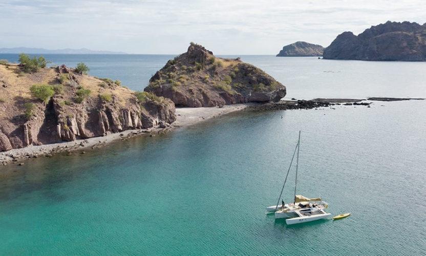 Puerto Agua Verde en Baja California Sur