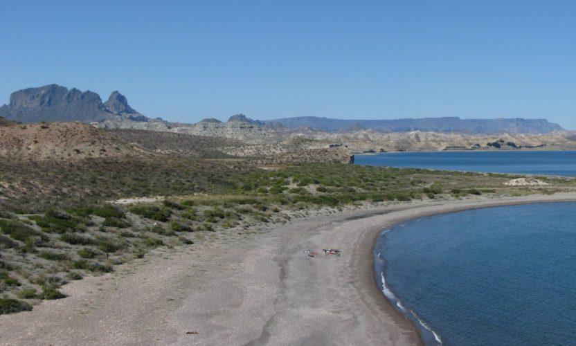 Punta Coyote en Baja California Sur