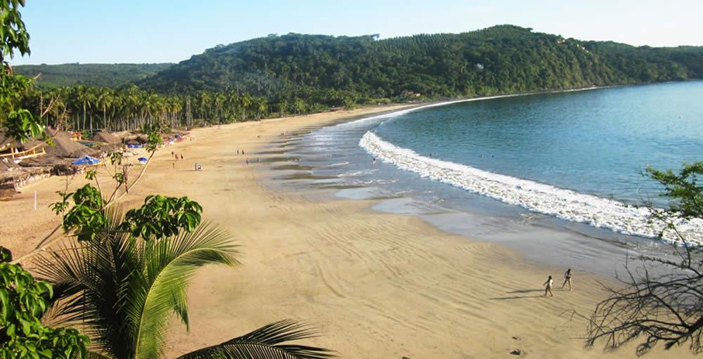 Bahía de Chacalilla y Chacala en Nayarit