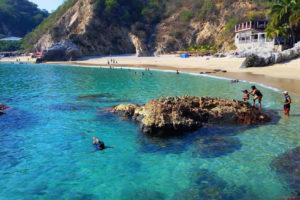 Playa Corrales en Jalisco