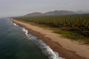 Playas de Teacapán en Sinaloa