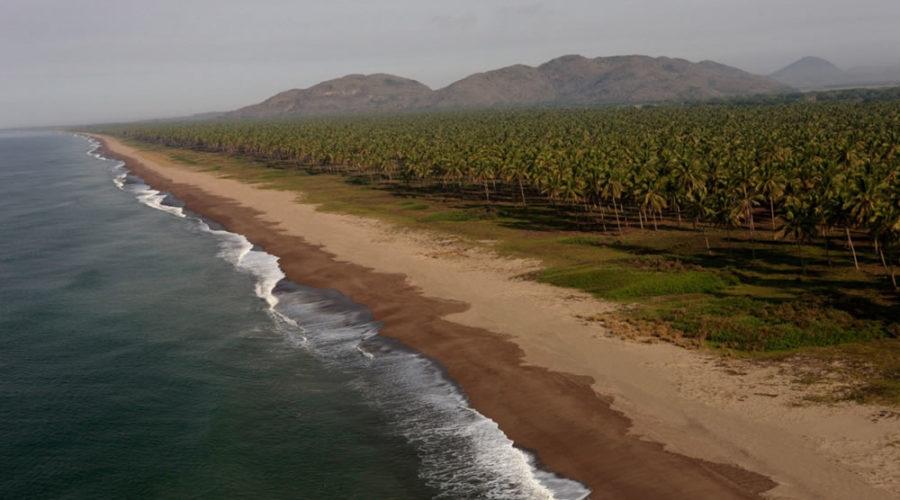 Playas de Teacapán en Sinaloa