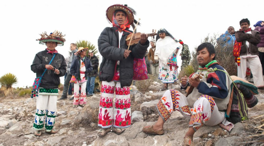 Pueblo Wixarika en Nayarit