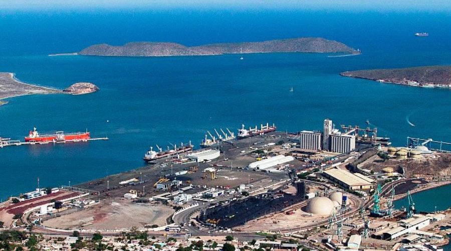 Puerto de Guaymas en Sonora