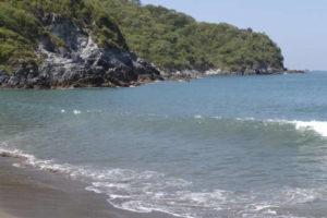 Bahía de San Telmo en Michoacán