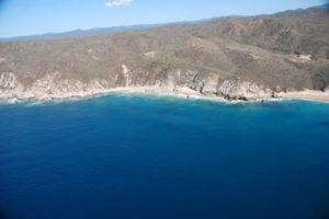 Playa Cucharitas en Jalisco