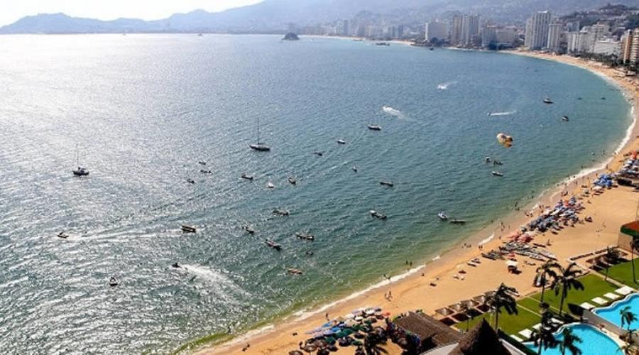 Playa Icacos en Acapulco