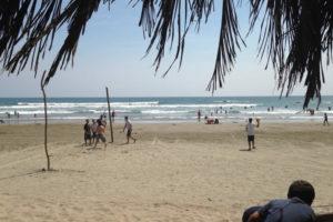 Playa La Soledad en Michoacán