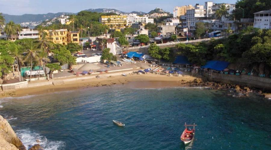 Playa Langosta en Acapulco
