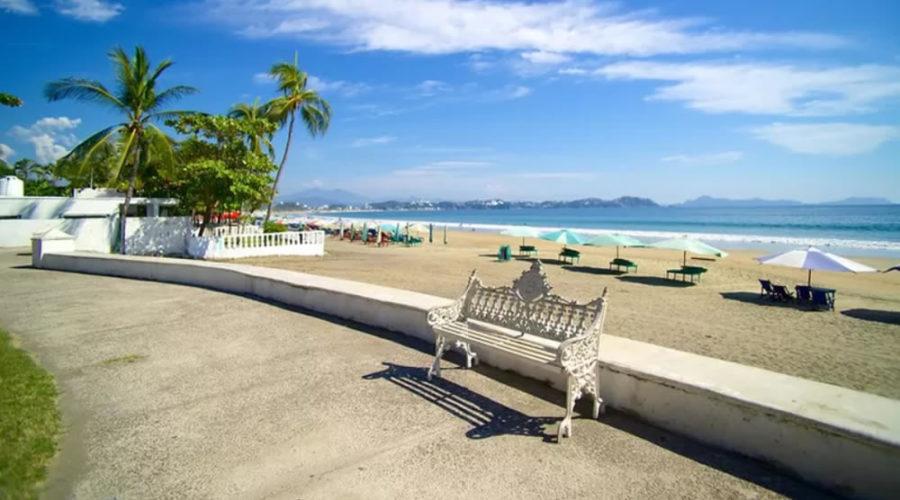 Playa Miramar en Colima