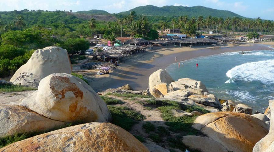 Playa Ventura en Guerrero
