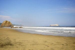 Playa de Oro en Colima