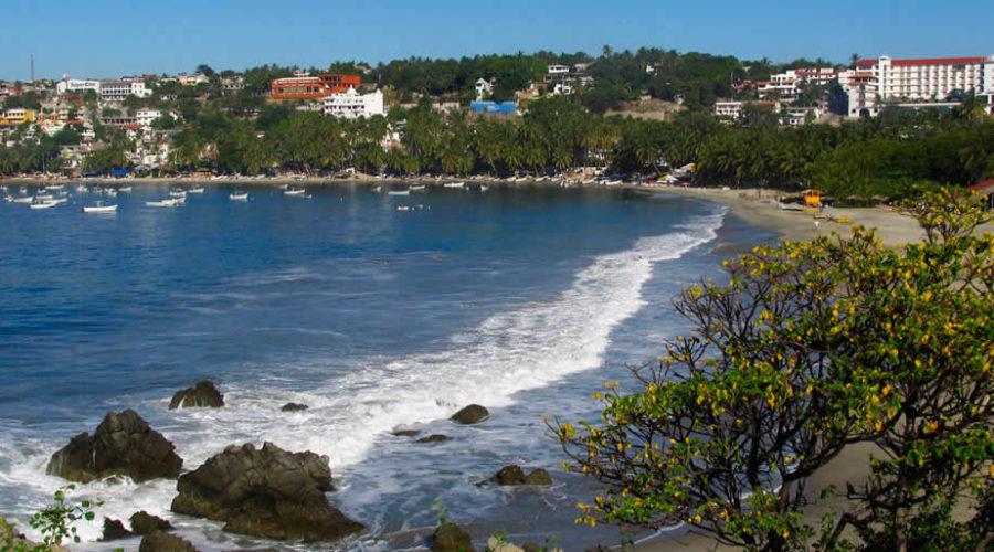 Puerto Escondido en Oaxaca