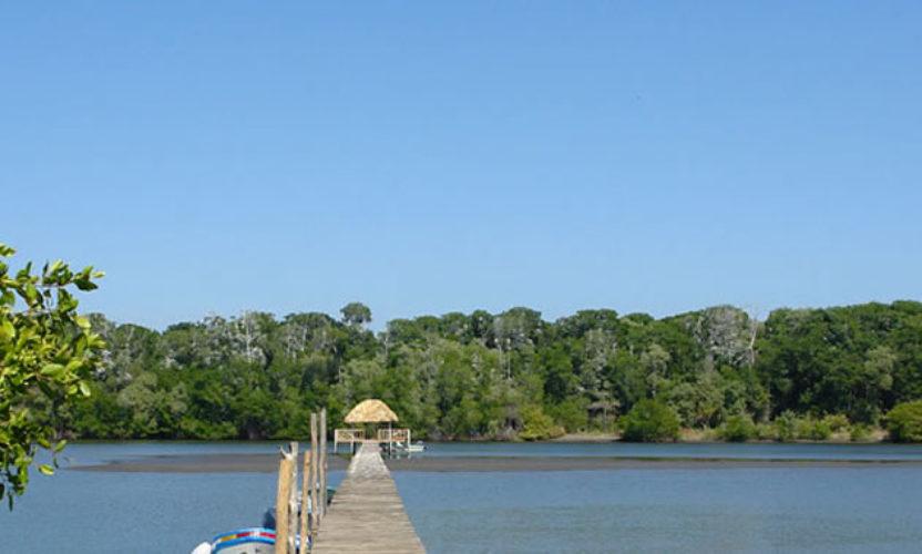 Bahía Santa Brígida en Chiapas